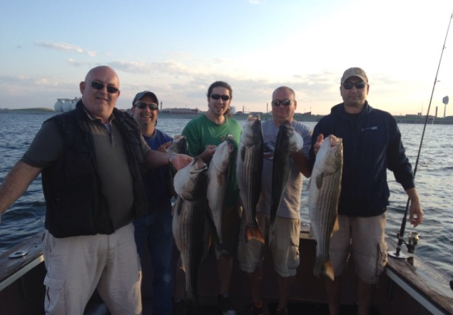 Sportfishing charters boston mass new england the for Boston fishing charters